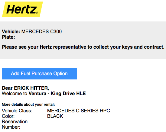 Hertz upgrade win