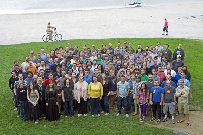 Automattic's annual all-company gathering, the Grand Meetup, in September 2012