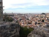 Another shot of Lisbon from the castle